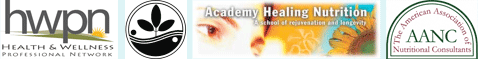 health & wellness professional network | academy healing nutrition | the american association of nutritional consultants | natural gourmet institute for health & culinary arts